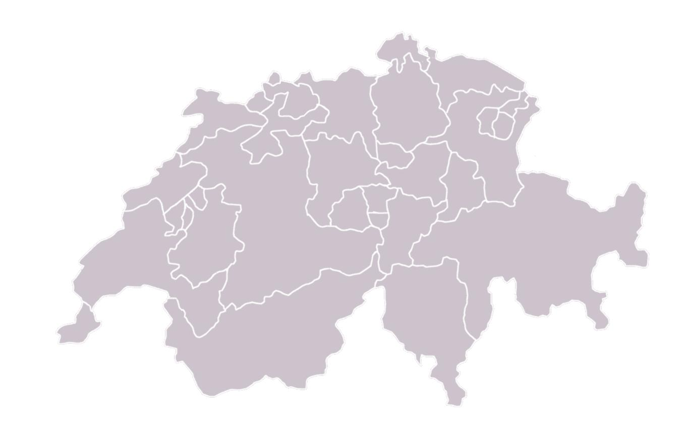 Image of: Blank Map Of Switzerland Map Of Blank Map Of Switzerland Western Europe Europe
