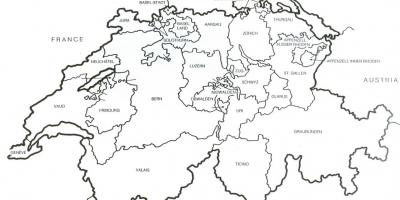 switzerland flag map map of switzerland flag western europe europe Switzerland Landmarks
